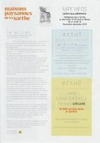 c'était à l'automne 2018 Edition spéciale de la 100e Lettre aux adhérents de la Sarthe