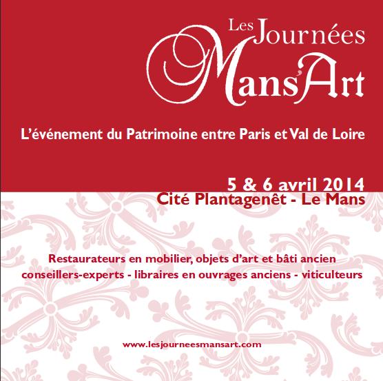 Les journées Mans'Art des 5 & 6 avril 2014